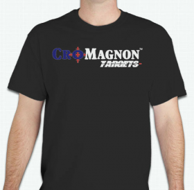 Cro-Magnon Targets T-Shirt - Bringing Realism To The Range